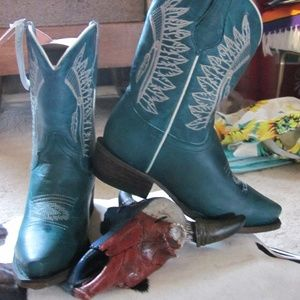 ROPER LITTLE KIDS CHIEFS SNIP TOE BOOT LEATHER